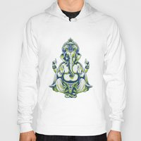 ganesh Hoodies featuring Ganesh by Scalifornian