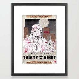 30 days of night - halloween special Framed Art Print