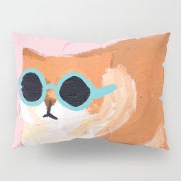 sunglass cat Pillow Sham