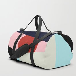 Circle Series - Red Circle No. 1 Duffle Bag