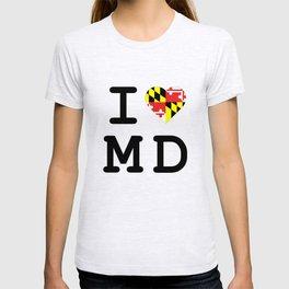 I Heart MD T-shirt