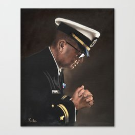 Upon My Knees (LTJG) Canvas Print
