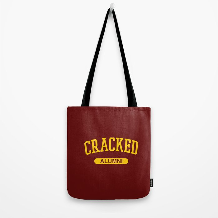 Cracked Alumni Tote Bag