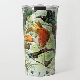 Birds of Paradise poster Travel Mug