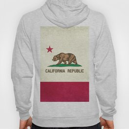 California Republic Flag Hoody