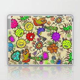 Doodle Germs Laptop & iPad Skin