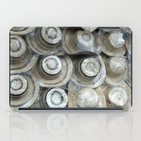 hats iPad Cases featuring Panamenian hats by lennyfdzz