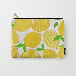 Lemon Crowd Carry-All Pouch