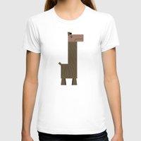 llama T-shirts featuring Llama by AWOwens