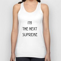 supreme Tank Tops featuring Supreme by Lyre Aloise