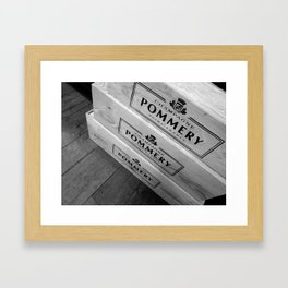 Pommery Framed Art Print