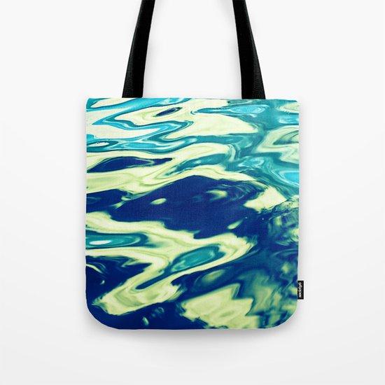 aqua agua Tote Bag