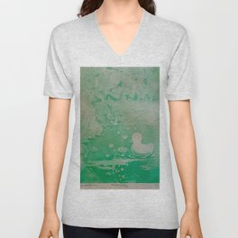 MoonSea Fantasy lightgreen Unisex V-Neck