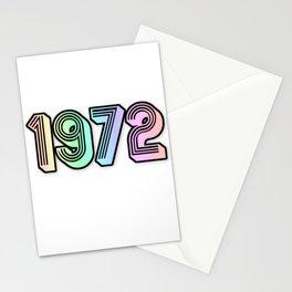 Vintage 1972 Stationery Cards