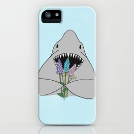 Happy Shark iPhone Case