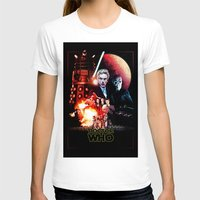 starwars T-shirts featuring StarWars / DoctorWho by thedrunknown