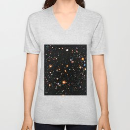 Hubble Extreme Deep Field Unisex V-Neck