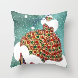 Anna Karenina Throw Pillow