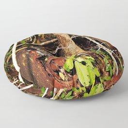 Nature's Reclaiming 2 Floor Pillow