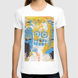 Blurring the Line Between Figuration and Abstraction T-shirt