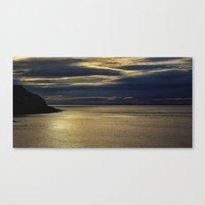 Evening on the Coast Canvas Print