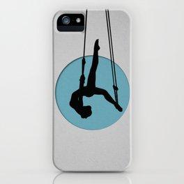 Aerial dance iPhone Case