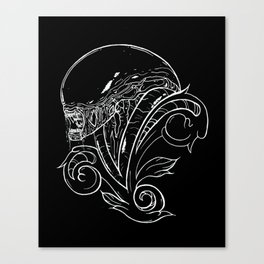 Filigree Alien Xenomorph Canvas Print