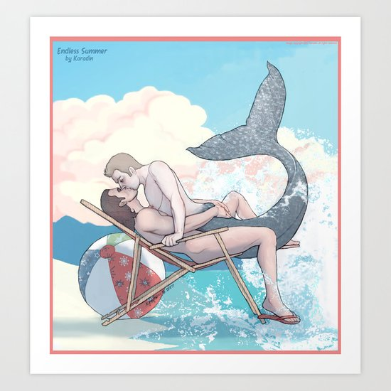 Endless Summer Art Print