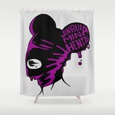 jinrui mina hentai Shower Curtain
