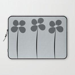 Cute Night Flowers Laptop Sleeve