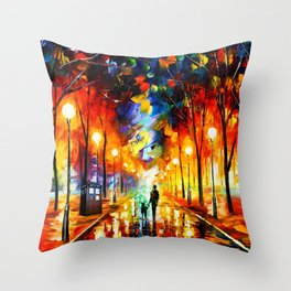 Tardis Art Watching Throw Pillow
