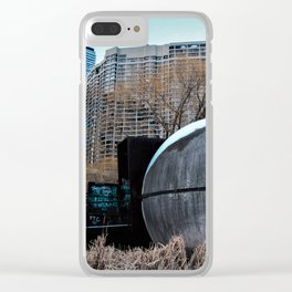 urban takeover Clear iPhone Case