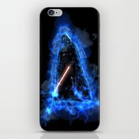 vader iPhone & iPod Skins featuring Vader by Robin Curtiss