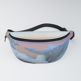 Viking Iceship on the Sea Fanny Pack