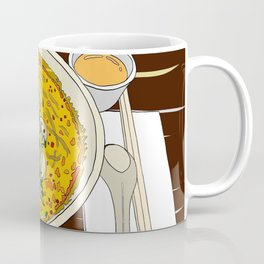 Singapore Laksa Noodle Coffee Mug