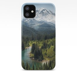 Mountain, Scenic, Rainier, Eunice Lake, National Park, Parks 2016 iPhone Case