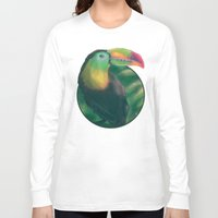tropical Long Sleeve T-shirts featuring Tropical by Ben Geiger