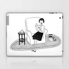I'll get by as long as I have books Laptop & iPad Skin