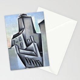 """Juan Gris """"Maisons à Paris (Houses in Paris)"""" Stationery Cards"""