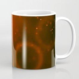 Red Christmas Abstract Coffee Mug