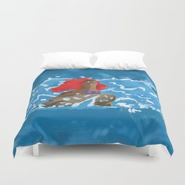 Part of This Rock Duvet Cover