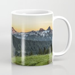 Looking Towards Tatoosh Range Coffee Mug