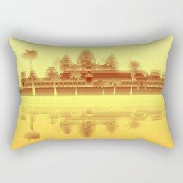 Angkor Wat Heat Rectangular Pillow