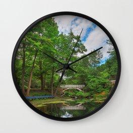 Jean-Drapeau Arch Pond Wall Clock