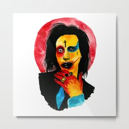 Mechanical Animals Metal Print