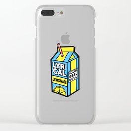 Lyrical Lemonade merch Clear iPhone Case