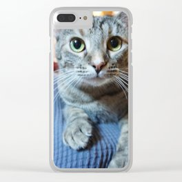 Zoey Portrait Clear iPhone Case