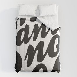 NSNG Pattern B&W Comforters