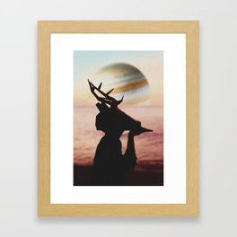 Júpiter Framed Art Print