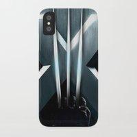 targaryen iPhone & iPod Cases featuring X-MEN THE MUTAN CLAW by BeautyArtGalery